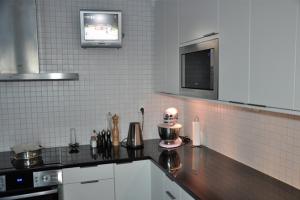 Hans och Anette Alsteryd nya köket